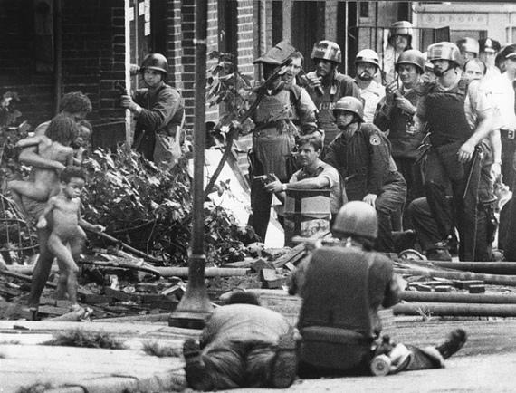 Photos of the MOVE Bombing in Philadelphia
